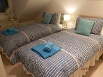 Top Twin Bedroom - can be made as a double bed