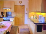 Thoughtfully equipped Kitchen with Dining Area