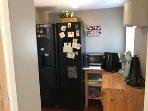 American Fridge Freezer / Microwave