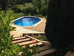 Holiday Getaway for the family in seclusion with Swimming Pool, beautiful views.