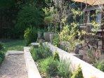 Entrance and gardens