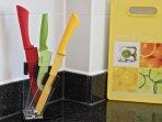 Complete kitchen utensils