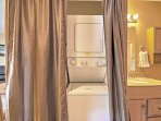 Keep clothes fresh and clean day after day with in-unit laundry machines.