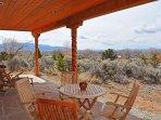 Taos Eagle Nest large covered patio