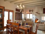 Taos Eagle Nest dining table
