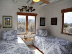 Taos Eagle Nest guest bedroom a