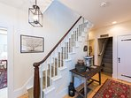 Entry Foyer & Stairs to 2nd Level