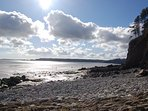 Amroth beach, Saundersfoot, Tenby all under an hour away.