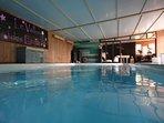 Au Vallon des Etoiles: piscine intérieure accès privé ( sur réservation)