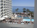 Sol House Costa del Sol and View taken from Balcony