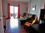 A lovely duplex apartment to make the most of your stay on the island.  In a peaceful location to en