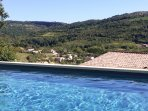 Beautiful pool with a view or Rennes le Chateau