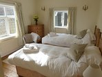 Boundary Farm twin bedroom