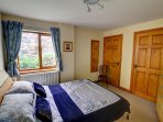 There is a ground floor double bedroom in this cottage, suitable for the less able
