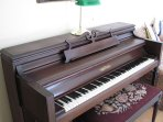 Chickering piano for music lovers.