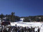 Mid-Mountain ski runs