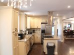 Completely updated kitchen cabinetry and appliances