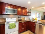Lovely, fully equipped kitchen.