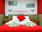 beautiful bedroom. more details can be seen on bluebeach.info