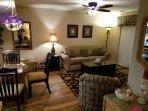 Living Area - fireplace side