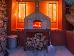 Pizza Oven available for parties!