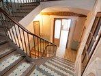 Escalera del Palau de Miravet