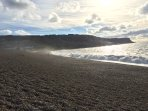 3mins walk to Chesil beach