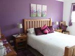 The purple room at Strathallan