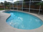 pool heating recommended from October to May  £17 EXTRA PER DAY