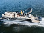 We NOW rent luxury pontoons to our guests! Have the Vacation of a lifetime!