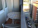 Terraza con cierre de seguridad para niños pequeños