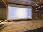 Giant Projection Screen