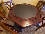 Transforming Game Table (Bumper Pool and Poker)