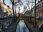 The canal in wintertime