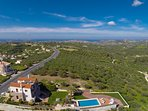 The location of the villa, you will be surrounded by nature but also close to everything!