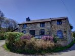 Lower Rheol is a detached stone cottage in a quiet location in peaceful countryside, with the owners' farm to the rear