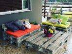 Relaxing patio...