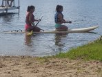 Paddle board to use