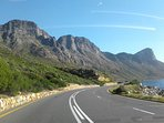 The scenic R44 between Gordon's Bay and Kleinmond