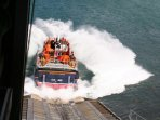 Watch the weekly lifeboat launch from inside the lifeboat station. Check which day and time.
