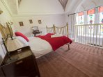 Wallace Suite upper floor - enjoy the view through the stunning stained glass baronial windows.