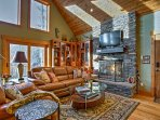 Elevate your Mountain getaway by staying at this Highlands vacation rental cabin