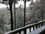 View from the deck in the Winter.