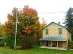 6 bedroom Mill House by the Falls Cottage in beaituful Port Albert, Ontario