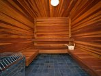 Legacy Mt. Resort sauna
