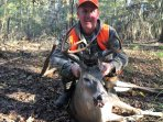 Deer hunting on public land around the lake. Please follow all Texas hunting regulations.