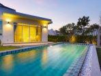 pool & outdoor shower