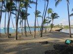 Nearby Anaehoomalu Beach/Bay