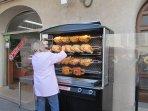 Hot Rotisserie Chicken is just around the corner