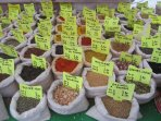 You can find Fresh Spices and Herbs at the Saturday Market